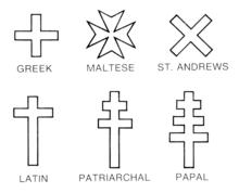 christian cross variants