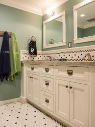 White Vanity Bathroom by Teal And White Bathrooms Descargas Mundiales Com