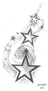 make your own star tattoo stencil hit the image for the tutorial
