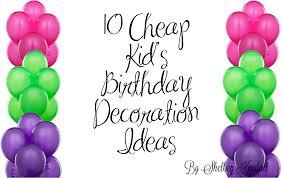 Diy Birthday Party Theme Ideas Cheap Birthday Decoration Ideas Grand Neabux Com