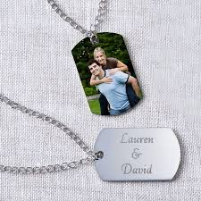 personalized photo pendant necklace personalized photo pendant dog tag style walmart