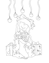 free dearie dolls digi stamps requested repost stocking
