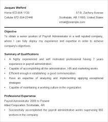 payroll resume samples lovely payroll officer cover letter for