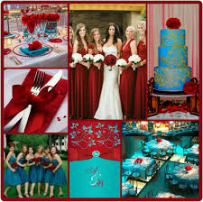 colors that go well with red pantone colors of 2015 scuba blue tagweddings
