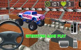 3d monster truck racing 3d monster truck parking free android apps on google play