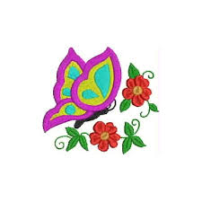 puttock international embroidery designs butterfly and flowers
