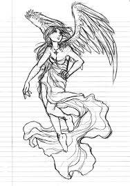 angel sketch by sterces7 on deviantart