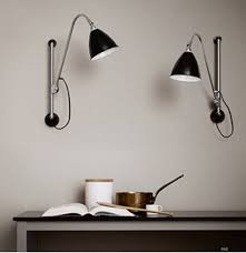 Modern Brief E 14 Black Iron Swing Arm Wall L Lights Ikea Fashion