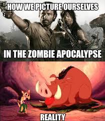Funny Zombie Memes - zombie apocalypse reality by takeo456 on deviantart