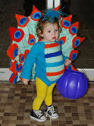Toddler Peacock Halloween Costume Cute Animal Themed Costumes Kids