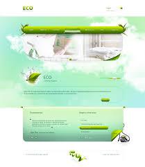 eco cleaning website 1 by karol rzeznik dribbble