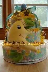 diaper cake decoration photos and ideas