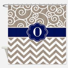 navy blue and tan shower curtains navy blue and tan fabric