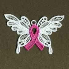fsl pink ribbon butterfly machine embroidery design free