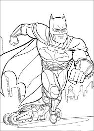 Batman Coloring Pages Free Pdf Running Page Thaypiniphone Batman Coloring Pages For