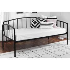 Cheap Daybed Mainstays Twin Metal Daybed Black Walmart Com