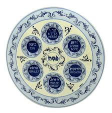 messianic seder plate buy seder plates for sale israel catalog