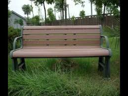 Replace Wood Slats On Outdoor Bench Plastic Wood Replacement Slats For Park Bench Uk Youtube