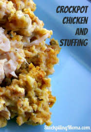 Crock Pot Dressing For Thanksgiving Crockpot Chicken And Stuffing