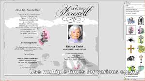 funeral invitation template free 10 free funeral program template for wordagenda template sle