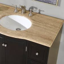 Small Bathroom Vanities And Sinks by 40 In Naomi Single Sink Bathroom Vanity In Expresso White Sink