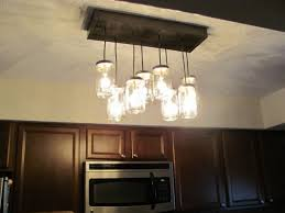 Track Lighting With Pendants Kitchens Outstanding Diy Mason Jar Chandelier Track Lighting Pendant