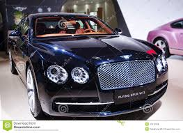 black bentley sedan a black bentley car editorial stock photo image 41412558