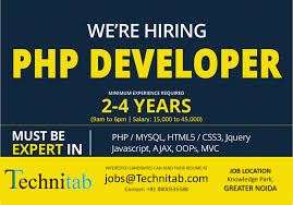 Resume Job Location by Php Mysql Jobs Template