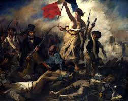 leading liberty leading the people by eugene delacroix