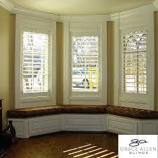 kitchen bay window treatment ideas decoration kitchen bay window treatment ideas curtains on windows