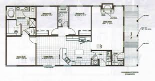 bungalow floor plans modern bungalow floor plans diy modern house plan