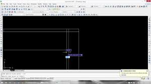 how to draw plan elevation and section of a supermarket in auto