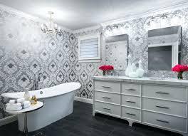 wallpaper ideas for bathrooms bathroom wallpaper ideas interlearn info