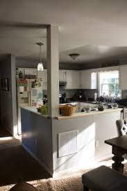 Ranch Style Kitchen Cabinets by Awesome Split Level Remodel Ranch Ideas Exterior Kitchen Before