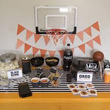 basketball party ideas basketball party ideas for the big tournament my s