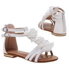 designer sandaletten sandalen kinder schuhe mädchen riemchen strass designer