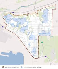 San Diego City Council District Map by Historic Districts