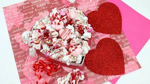 valentines day chocolate s day chocolate drizzled popcorn an easy s treat