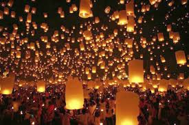 Paper Lantern Chandelier A Sky Full Of Paper Lanterns The Truth About Motherhood