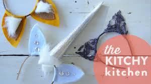 halloween headbands diy halloween headbands the kitchy kitchen youtube