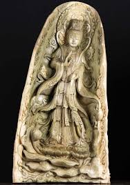 large kwan yin wood carving 40 81w11 hindu gods buddha statues