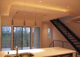 Lighting For Ceiling Tray Ceiling Lights Reflect The Surface For The Look