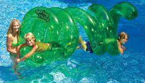 amazon com swimline spring thing inflatable pool toy patio lawn