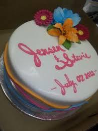calumet bakery falling in love bridal shower anniversary cakes