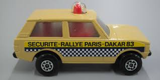 matchbox land rover discovery toy matchbox security car police patrol no 20 rolamatics