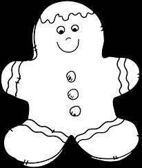 granny goes to holiday cookie clip art