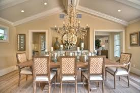 Dining Room Recessed Lighting Recessed Lighting On Sloped Ceiling Crown Decor Dining Room