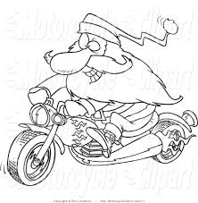 biker santa clipart 18