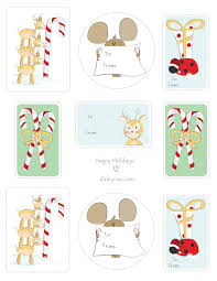 free printable gift tags dinky cowdinky cow
