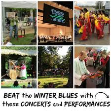 beat the winter blues with live music and performances for families
